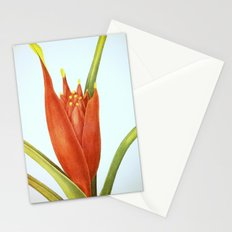 II. Vintage Flowers Botanical Print by Pierre-Joseph Redouté - Tropical Stationery Cards