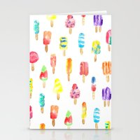 popsicle Stationery Cards featuring Popsicle by Golden Girl Art