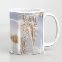 notebook Mugs featuring And finally Winter, with its bitin', whinin' wind, and all the land will be mantled with snow. by UtArt