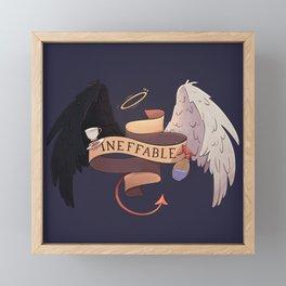 ineffable Framed Mini Art Print