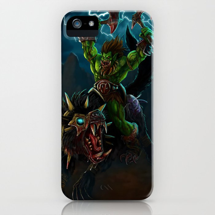 Blood and Thunder iPhone Case