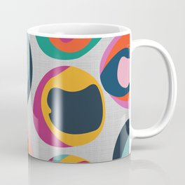Rainbow Resin Coffee Mug