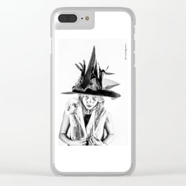 The tiny witch Clear iPhone Case