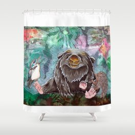 Aussie gathering Shower Curtain