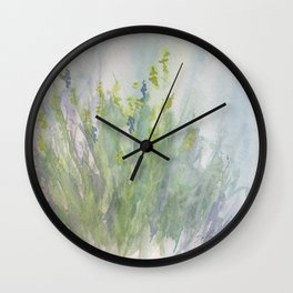 First Day in Helen's Meadow Wall Clock