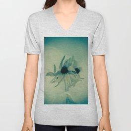Blue coneflowers Unisex V-Neck