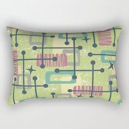 Mid Century Modern Abstract Pattern 832 Rectangular Pillow