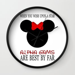 Alpha Gams Are Best By Far Wall Clock