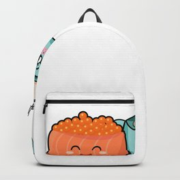 You Maki Miso Happy Motive for a Sushi Lover Backpack