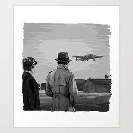 Casablanca Ending Art Print
