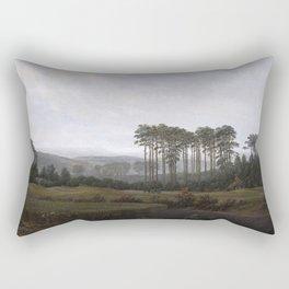 Caspar David Friedrich - The Times of Day - The Afternoon Rectangular Pillow
