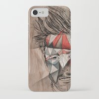 men iPhone & iPod Cases featuring Men by Mary Szulc