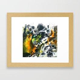 Eye of the Leopard Framed Art Print