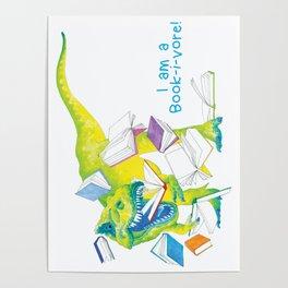 I am a Book-i-vore! Poster