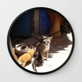 What´s the new, pussycat? Wall Clock
