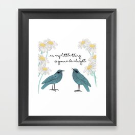 Three Little Birds, Part 2 Framed Art Print