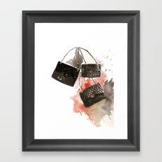 It bag Framed Art Print