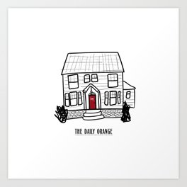 DO House Art Print