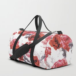 Painting with roses Duffle Bag