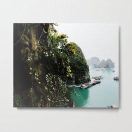 Ha Long Bay 1 (diptych) Metal Print