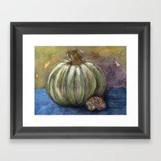Gourd & Snail Framed Art Print