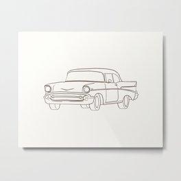 Cruiser 2 Metal Print