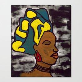 Bajan Woman Canvas Print