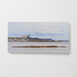 fishing village on Fogo Isl, NL Metal Print
