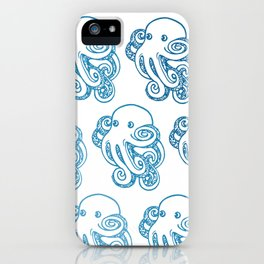 ombre octopuses iPhone Case
