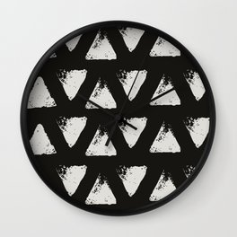 Triangle Pattern II Wall Clock
