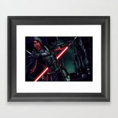 SWTOR - Attack! Framed Art Print
