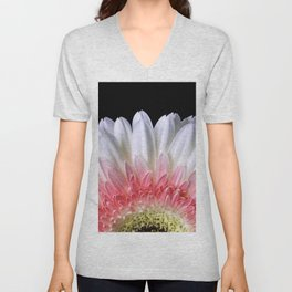 Flower_24 Unisex V-Neck
