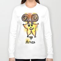 aries Long Sleeve T-shirts featuring Aries by sladja