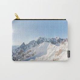 Monte Bianco / Mont Blanc mountain's beauty Carry-All Pouch