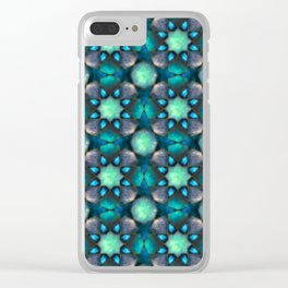 Stars matter endless loop Clear iPhone Case