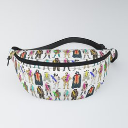 Neon Space Pride Equality Fanny Pack