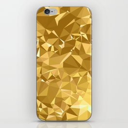 Gold Triangles iPhone Skin