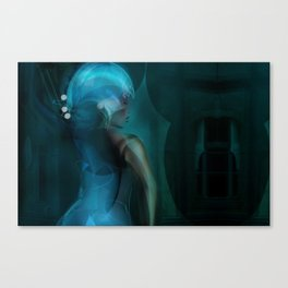 Digital Ball-Room Canvas Print