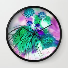 Mysterious Bloom - Spring Breeze Wall Clock