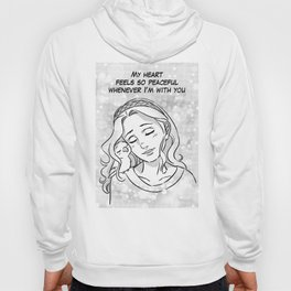 Peaceful heart Hoody