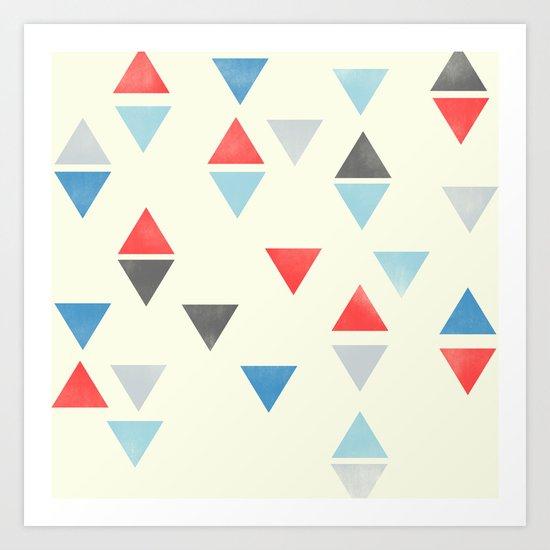 Triangle : Pattern Art Print