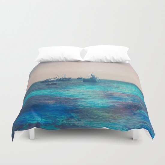 Travels II Duvet Cover