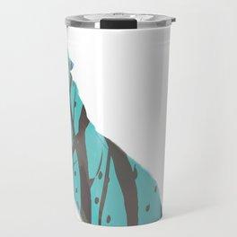 Wolf Silhouette Travel Mug