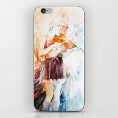 City street iPhone & iPod Skin