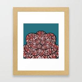Brain Flower Framed Art Print