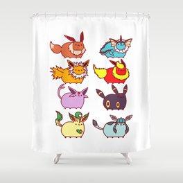 Eeveelutions  Shower Curtain