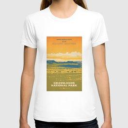 Grasslands National Park Poster T-shirt