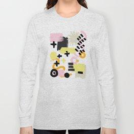 Perception Abstract 001 Long Sleeve T-shirt