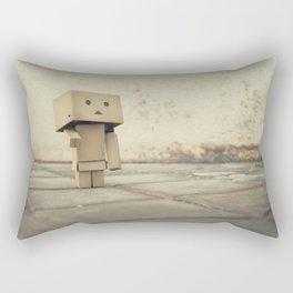 Danbo on the street Rectangular Pillow