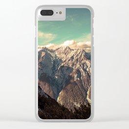 Alpine Magic Clear iPhone Case